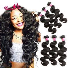 Hair Extensions & Wigs Sunnymay Brazilian Remy Loose Wave 1pcs Human Hair Bundles Double Weft Hair Weave Bundles Modern And Elegant In Fashion Human Hair Weaves