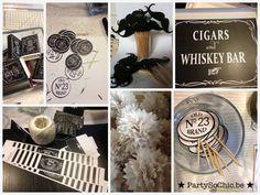 Party so ChicConcept moustaches & Jack Daniels par Party So Chic : Printable