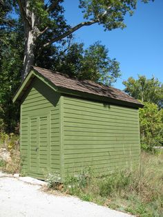 Learn how to build a shed in your backyard with these shed plans and ideas for ... It is a super simple design and appears to be very simple to build as well.