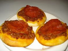 Jazzy Allergy Recipes: Egg Free, Dairy Free Personal Biscuit Pizzas