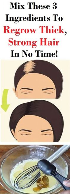 Regrow Thick, Strong Hair