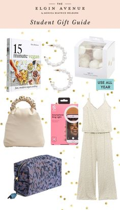 Student Christmas Gift Guide 2020 by Jessica Cotton for The Elgin Avenue Blog Student Christmas Gifts, Christmas Gift Guide, Student Gifts, The White Company, Best Gifts, Posts, Blog, Cotton, Messages