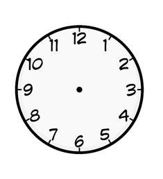 Omalovánky s hodinami