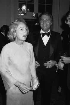 Ethel Kennedy and Frank Gifford