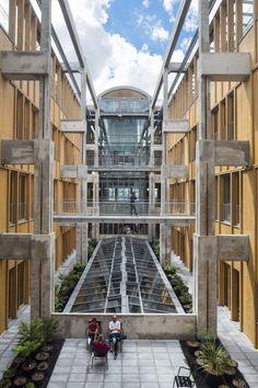 Jung Architectures, Hervé Abbadie · Magasins généraux de Pantin