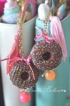 Charm Donuts - Cogumelo de E.V.A