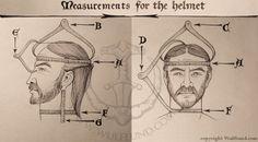 How to measure custom helmets