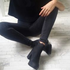 all black. | Liked by - http://www.chinasalessite.com  – Trendy Wholesale Women's Clothes,Wholesale Women's Apparel & Accessories