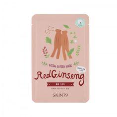 Skin79 Red Ginseng Fresh Garden Mask Cosmetiques Online