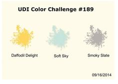 Utah Divas International: Color Challenge 189  Stampin' Up!