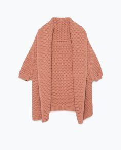 Image 7 de veste à col châle de Zara