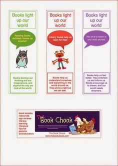 The Book Chook: Activities for Children's Book Week, 2015