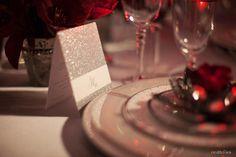 Gorgeous #glittery #dinner #menus