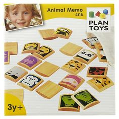 Wooden tile memory game
