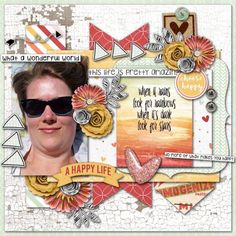Layout by CTM Debora using {Life Is Good} Digital Scrapbook kit by Pixelily Designs http://store.gingerscraps.net/Life-Is-Good.html #digiscrap #digitalscrapbooking #pixelily #lifeisgood