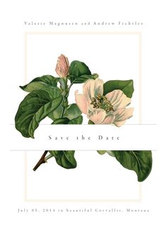 Save the date | by ink [the paperie]