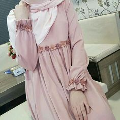 Pink hijab roob