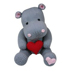 Hearts (Knit a Teddy) Knitting pattern by Knitables