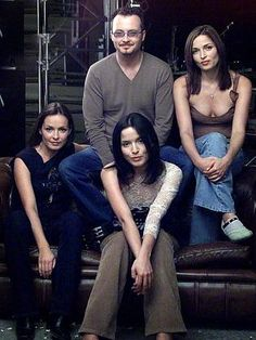 Andrea with Caroline, Jim and Sharon Corr