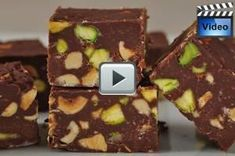 Simple chocolate fudge is just that, simple to make. It is also loaded with nuts and is creamy smooth with a nice chocolate flavor.  From Joyofbaking.com With Demo Video