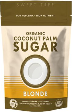 "Our Coconut Palm Sugar was featured on Dr. Oz, where he claimed it as ""the best alternative to cane sugar""!  One of the lowest glycemic index sweeteners on the market, Sweet Tree organic coconut palm sugar is highly nutritious, ecologically beneficial and provides sustained energy with a wonderful familiar taste of a soft brown sugar."