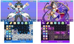 """Japan - This week's 3DS themes   - Brave Dungeon """"Jiz"""" - Brave Dungeon """"Mali""""  from GoNintendo Video Games"""