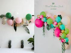 fiesta tropical globos