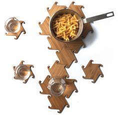 Interlocking Coasters - by dakremer @ LumberJocks.com