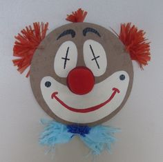 Carnival Party Game - Pin the nose on Clown