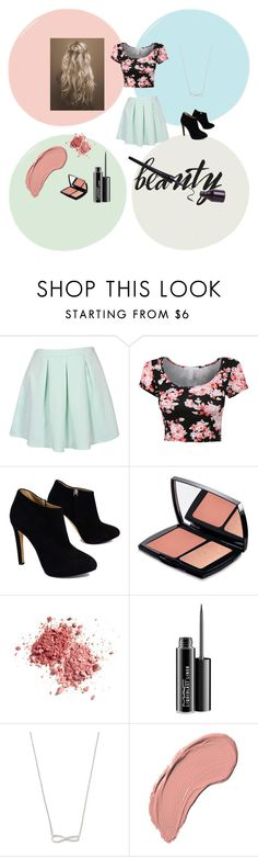 """""""Summer Day"""" by ria-funland ❤ liked on Polyvore featuring Giuseppe Zanotti, Lancôme, MAC Cosmetics and NYX"""