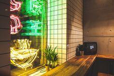 Ramen Bar, Ramen Shop, Mary Wong, Asian Bistro, Noodle Bar, Neon Design, Asian Restaurants, Bar Interior, Interior Design