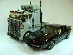 goliath truck knight rider   Knight Rider Originals: Goliath : a LEGO® creation by the guy behind ...