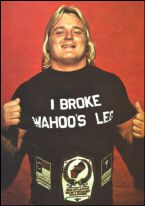 """Because of home made, iron-on T-Shirts.    - Greg """"The Hammer"""" Valentine"""
