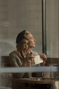 Carol by Todd Haynes with Cate Blanchett, Rooney Mara. Film Carol, Cate Blanchett Carol, Patricia Highsmith, Sandy Powell, Todd Haynes, Thriller, Ashley Johnson, Jolie Photo, Lesbian Love