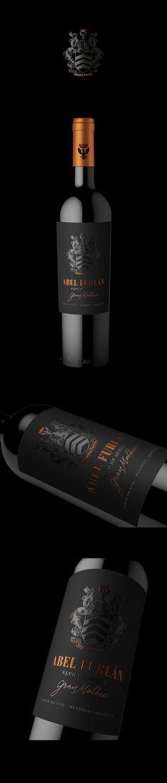 Packaging desgin for ABEL FURLAN Gran Reserva. By @estudioiuvaro