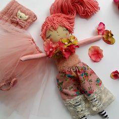 Muñeca de princesa primavera vestido de muñeca por thedollsunique