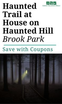 Are you brave enough for the Haunted Trail at House on Haunted Hill? This is a 50-minute, mile long trailway full of things like a graveyard, crematorium, ghosts, monsters & a butcher shop. This amazing experience, perfect for the Halloween season, is in Brook Park, Minnesota. Find out more including how you can save money on your ticket. Perfect if you're looking for fun things to do to celebrate the Halloween holiday - but not perfect if you are easily scared! #Halloween #HauntedTrail…
