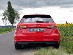 Heck des Audi A3 Sportback e-tron