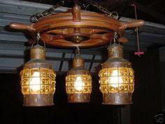 Ships wheel lantern chandelier i wish pinterest lantern antique holland ankerlicht ship wheel chandelier light 21726984 mozeypictures Images