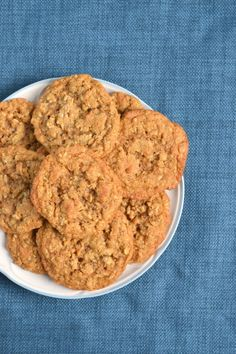 100% Whole Wheat Chewy Oatmeal Coconut Cookies