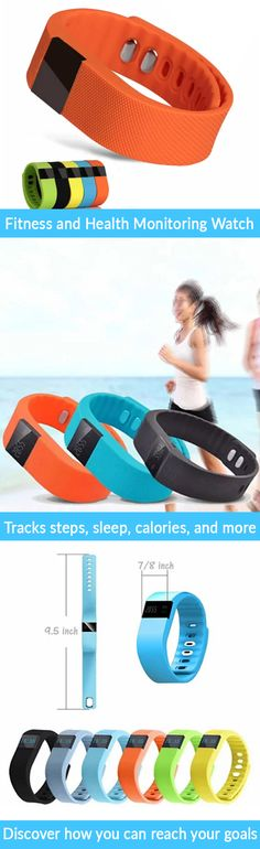 For a limited time, get 80% off our Smart Fit Fitness and Health Monitoring Watch AND get a free extra band with purchase! Take your fitness to the next level and accomplish your health goals. This lightweight watch features a pedometer to track your steps, a sleep monitor with alarm, call alert/notifier, and anti-loss alarm.