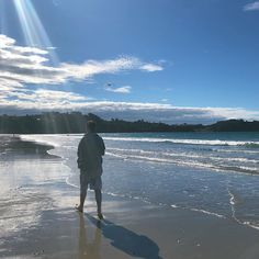 Mr Reilly strolling along the magnificent Onetangi beach at home - Waiheke Is. This is where we hand blend our unique native formulations. well not actually on the beach! South Pacific, Organic Skin Care, New Zealand, Australia, Island, Unique, Beach, Places, Water