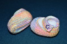 Basic Mary Jane Baby Booties Free Knitting Patterns with How-to Knit Videos!