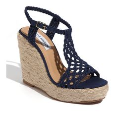 Steve Madden 'Manngo' Woven Sandal...I love these and need them in my closet
