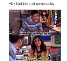 Disney Channel will never make a show as good as Wizards of Waverly Place Tv Quotes, Funny Quotes, Funny Memes, Hilarious, Jokes, Series Da Disney, Old Disney Shows, Turn Down For What, Old Disney Channel