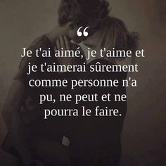 French Love Quotes, Good Morning Texts, Life Quotes To Live By, Romantic Quotes, Some Words, Love Messages, Positive Affirmations, Just Love, Decir No