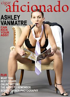Ashley Vanmatre, Cigar Aficionado
