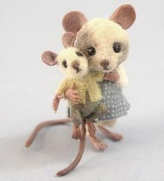 stuffed mouse? & baby