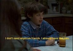 quotes, freaks and geeks, and friends image Intp, Jean Valjean, Freaks And Geeks, Film Quotes, Quotes Quotes, Quote Aesthetic, Aesthetic Names, Mood Quotes, Chanyeol