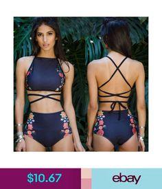Swimwear Women Monokini Bikini Set Swimwear Push-Up Padded Bra Bandage Swimsuit Beachwear Cute Swimsuits, Women Swimsuits, Body Suit Outfits, Woman Outfits, Women's Swim Tops, Swimwear Fashion, Fashion Bra, Cute Bathing Suits, Monokini